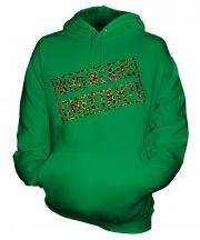 Who Wears Cheetah?! Unisex Adult Hoodie