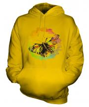 Butterfly Watercolour Unisex Adult Hoodie