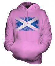 Scotland Distressed Flag Unisex Adult Hoodie