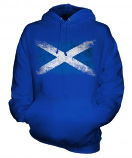 Scotland Distressed Flag Unisex Adult Hoodie