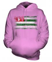 Abkhazia Distressed Flag Unisex Adult Hoodie