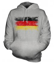 Germany Distressed Flag Unisex Adult Hoodie