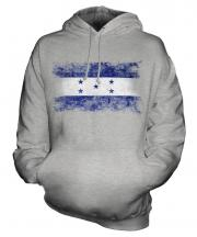 Honduras Distressed Flag Unisex Adult Hoodie