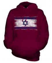 Israel Distressed Flag Unisex Adult Hoodie
