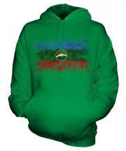 Karachay-Cherkessia Distressed Flag Unisex Adult Hoodie