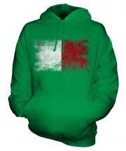 Malta Distressed Flag Unisex Adult Hoodie