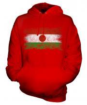 Niger Distressed Flag Unisex Adult Hoodie