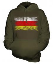 North Ossetia Distressed Flag Unisex Adult Hoodie