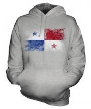 Panama Distressed Flag Unisex Adult Hoodie