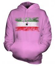 Somaliland Distressed Flag Unisex Adult Hoodie