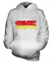 South Ossetia Distressed Flag Unisex Adult Hoodie