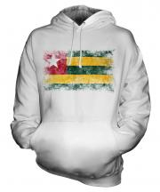 Togo Distressed Flag Unisex Adult Hoodie