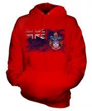 Tristan Da Cunha Distressed Flag Unisex Adult Hoodie
