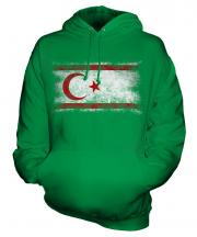 Turkish Republic Of Northern Cyprus Distressed Flag Unisex Adult Hoodie