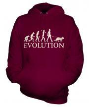 Alsatian Evolution Unisex Adult Hoodie