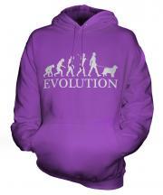 Australian Shepherd Evolution Unisex Adult Hoodie