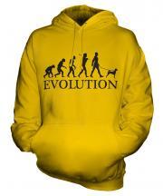 Basenji Evolution Unisex Adult Hoodie