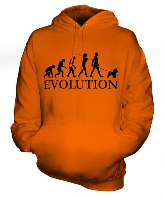 Bichon Frise Evolution Unisex Adult Hoodie