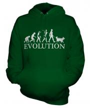 Border Collie Evolution Unisex Adult Hoodie