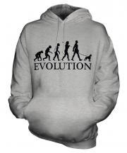 Boston Terrier Evolution Unisex Adult Hoodie