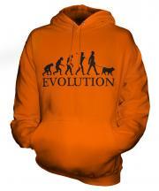 Canaan Dog Evolution Unisex Adult Hoodie