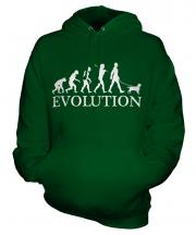King Charles Spaniel Evolution Unisex Adult Hoodie