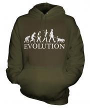 Chesapeake Bay Retriever Evolution Unisex Adult Hoodie