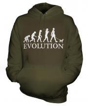 Chihuahua Evolution Unisex Adult Hoodie