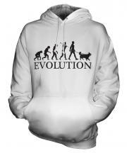 Collie Evolution Unisex Adult Hoodie