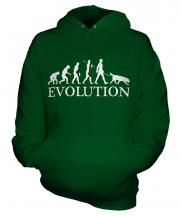Flat-Coated Retriever Evolution Unisex Adult Hoodie