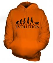 Gordon Setter Evolution Unisex Adult Hoodie