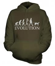 Greyhound Evolution Unisex Adult Hoodie