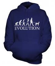 Italian Greyhound Evolution Unisex Adult Hoodie