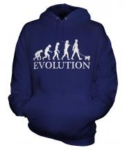 Papillon Evolution Unisex Adult Hoodie