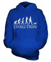 Parson Russell Terrier Evolution Unisex Adult Hoodie