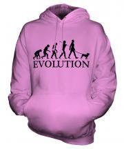 Pug Evolution Unisex Adult Hoodie