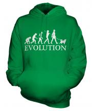Shiba Inu Evolution Unisex Adult Hoodie