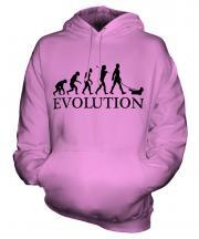 Skye Terrier Evolution Unisex Adult Hoodie
