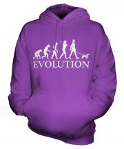 Fox Terrier Evolution Unisex Adult Hoodie