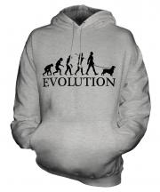Sussex Spaniel Evolution Unisex Adult Hoodie
