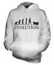 Tibetan Mastiff Evolution Unisex Adult Hoodie