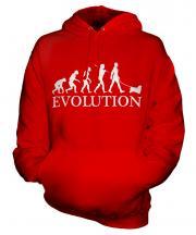 Tibetan Spaniel Evolution Unisex Adult Hoodie