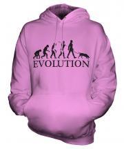 Weimaraner Evolution Unisex Adult Hoodie