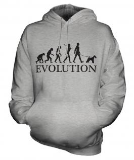 Wire Fox Terrier Evolution Unisex Adult Hoodie