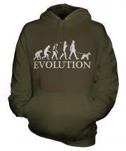 Wire Fox Terrier Evolution Unisex Adult Hoodie