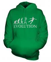 Figure Skater Evolution Unisex Adult Hoodie