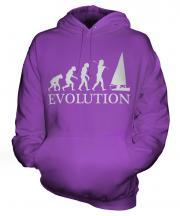 Sailing Evolution Unisex Adult Hoodie