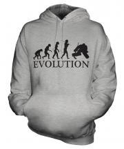 Ice Hockey Goalkeeper Evolution Unisex Adult Hoodie
