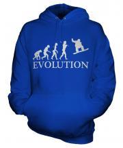 Snowboarder Evolution Unisex Adult Hoodie