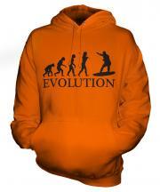 Surfer Evolution Unisex Adult Hoodie